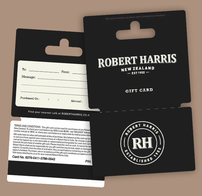 Robert Harris Gift Cards